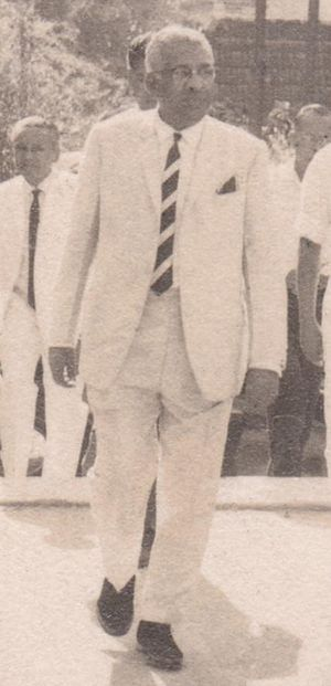 Ceylonese parliamentary election, July 1960 - Image: Dudley Shelton Senanayaka As The Prime Minister of Ceylon