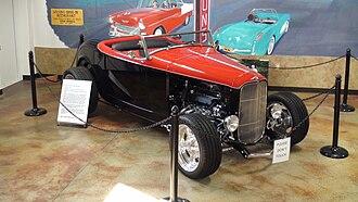 Estrella Warbird Museum - Image: Duece Coupe at Estrella