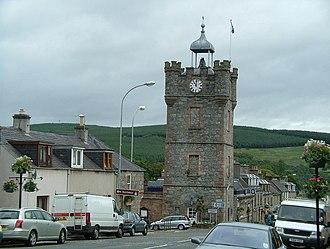 Dufftown Clock Tower - Image: Dufftown Clock Tower (A941) geograph.org.uk 526638