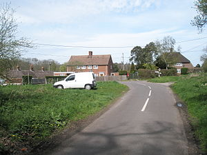 Trotton with Chithurst - The centre of Dumpford