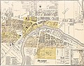 Dundee, Michigan. Detail from Map of Monroe County 1901.jpg