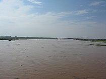 Duong River from Phu Dong Bridge.JPG