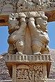 Dwarfs - West Face - North Pillar - West Gateway - Stupa 1 - Sanchi Hill 2013-02-21 4326.JPG