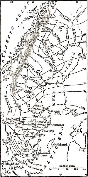 EB1911 Sweden - map of ice periods.jpg