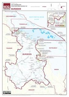 Electoral district of Burdekin state electoral district of Queensland, Australia