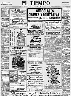 Colombian newspaper