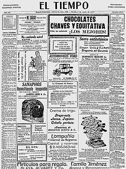 El Tiempo Colombia Wikipedia La Enciclopedia Libre