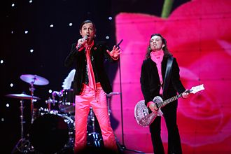 France in the Eurovision Song Contest - Image: ESC 2007 France Fatals Picards L'amour à la française