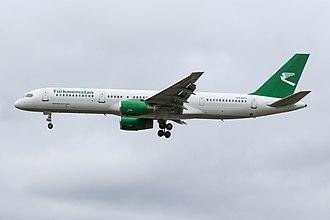 Turkmenistan Airlines - Turkmenistan Airlines Boeing 757-200