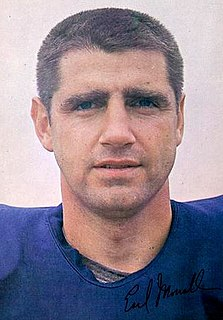 Earl Morrall American football player, quarterback