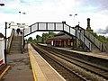 Earlestown Railway Station, Footbridge - geograph.org.uk - 1311982.jpg