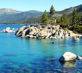 Early Morning, Sand Harbor, Lake Tahoe, NV 9-10 (27057987562).jpg