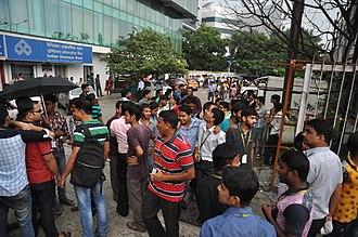 August 2016 Myanmar earthquake - The earthquake led to an office evacuation in Kolkata.