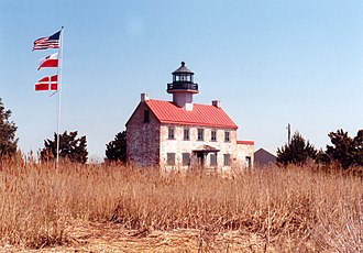 Maurice River Township, New Jersey - East Point Light