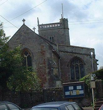 East Harptree - Image: East harptree church