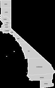 東カリフォルニア's relation image