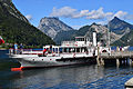 Ebensee - Dampfschiff Gisela beim Anlegen.jpg