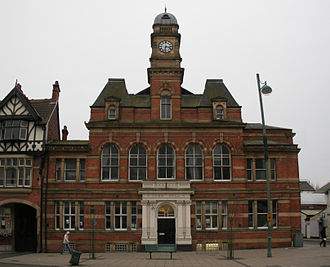 Eccles, Greater Manchester - Former Eccles town hall