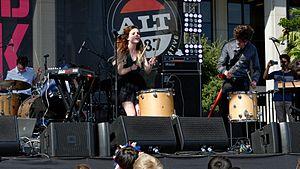 Echosmith - Echosmith performing in 2014