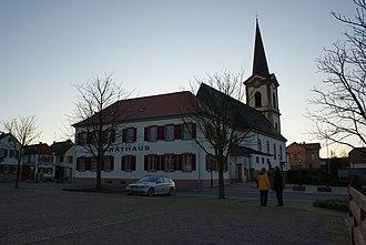 Edesheim - Image: Edesheim rathaus