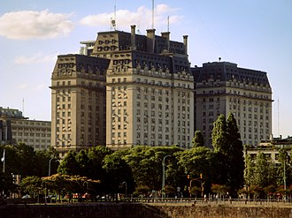 Libertador Building - The building seen form Puerto Madero.
