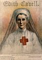 Edith Louisa Cavell. Reproduction after pastel drawing by El Wellcome V0001038.jpg