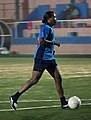 Edwin Congo, driving the ball.jpg