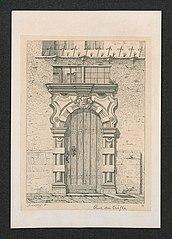 Een deur in de Klaverstraat