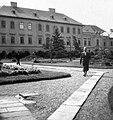 Eger, az Érseki Palota kertje. Fortepan 5934.jpg