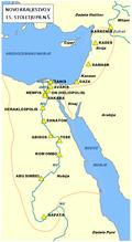 Obseg Starega Egipta v času Novega kraljestva