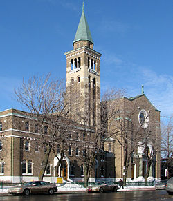 Saint-Ambroise Church, on Beaubien Street.