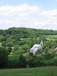 Eglise St Claire 2 Hagnicourt Ardennes France.JPG