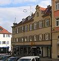 Ehemaliges Wohnhaus Florina Ottenheimer Ludwigsburg Bei der katholischen Kirche 3 (Stolperstein) DSC 4026.JPG