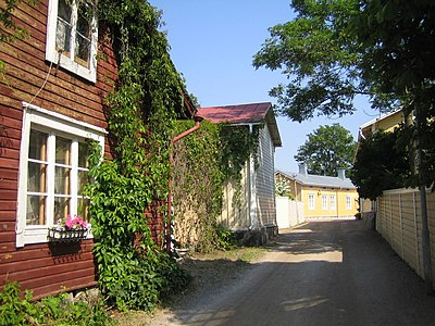 gamla stan i Ekenäs
