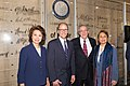 Elaine Chao, Thomas Perez, Bill Brock, and Alexis Herman, 2015.jpg