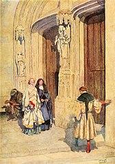 Pétrarque et Laure à Avignon
