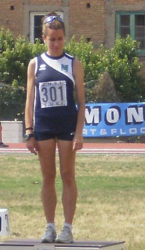 Eleonora Giorgi (racewalker) - Eleonora Giorgi, in 2012 after the victory at the National University Championships in Messina.