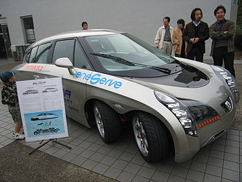 Eliica Battery Electric Car with 370 km/h top ...