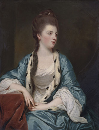 William Kerr, 5th Marquess of Lothian - Elizabeth Kerr, marquise of Lothian (1745-1780), William Kerr's wife. (Joshua Reynolds, 1769)