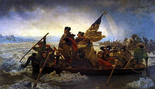 Emanuel Leutze - Washington Crossing the Delaware - WGA12909
