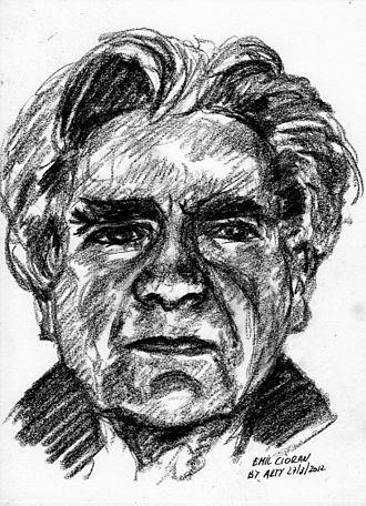 Emil Cioran - Caricature of Emil Cioran