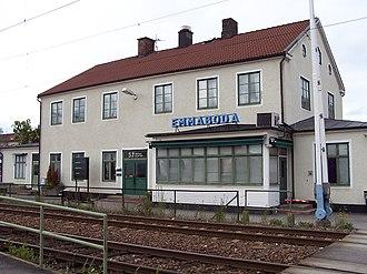 Emmaboda - Emmaboda railway station