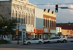 Emporia business district, 2009
