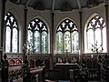 Engraved windows in St Nicholas Church, Moreton, Dorset - geograph.org.uk - 1389458.jpg