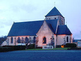 The church in Ennordres
