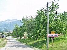 Arbres fruitiers à Saint-Sulpice sur la châine de l'Épine