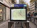 Entrée Station Métro Boulogne Jean Jaurès Boulogne Billancourt 2.jpg