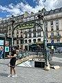 Entrée Station Métro Place Clichy Paris 2.jpg