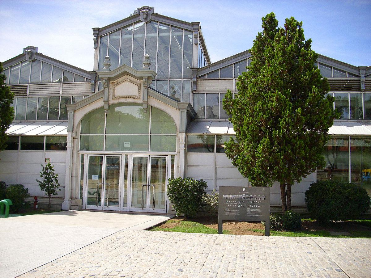Palacio de cristal de la arganzuela wikipedia la for Precio entrada jardin botanico madrid