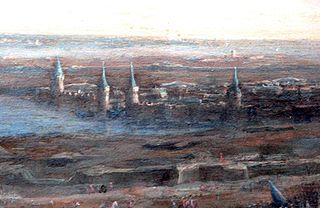 Siege of La Rochelle Height of the struggle between the Catholics and the Protestants in France